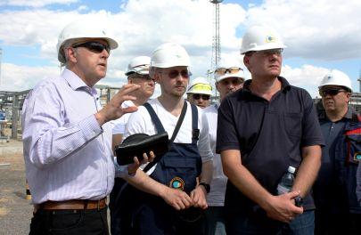 Nikolay Gorban, CPC General Director, inspected the Tengiz